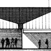 Section of ine drawing of Queensgate Market